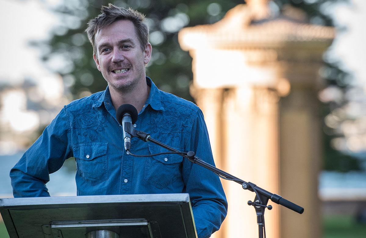 Lysicrates Prize 2018 Travis Cotton winning playwright