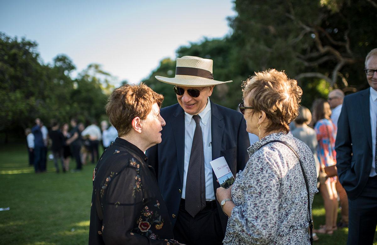 Lysicrates Prize 2018 Patricia Azarias, John Azarias, Kathleen Gilbert