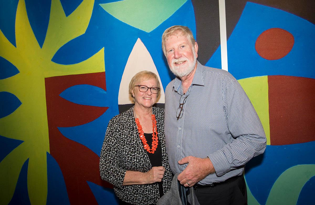 Lysicrates Prize 2018 Bruce Pettman, Judy Pettman