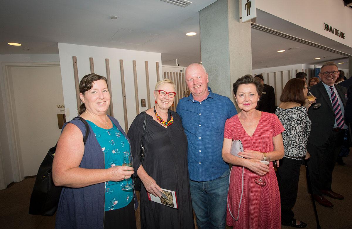 Lysicrates Prize 2018 Kim Walley, Martin Fame, Lucy Fame