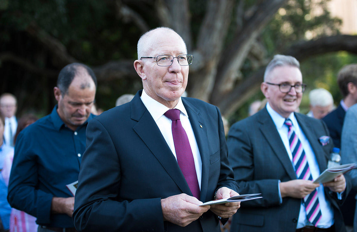 Lysicrates Prize 2018 Governor General David Hurley, Minister Don Harwin