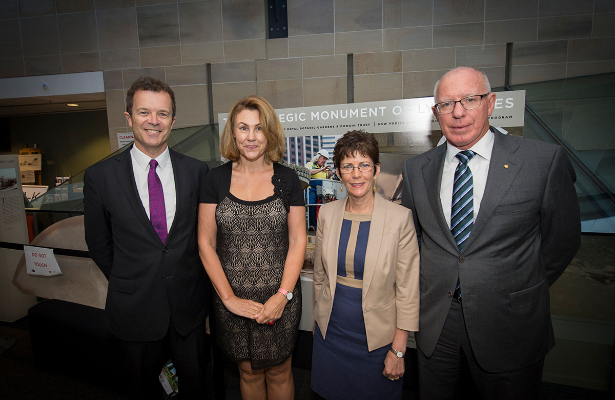 Lysicrates Prize 2016 The Hon Mark Speakman, Caroline Speakman, Linda Hurley and David Hurley
