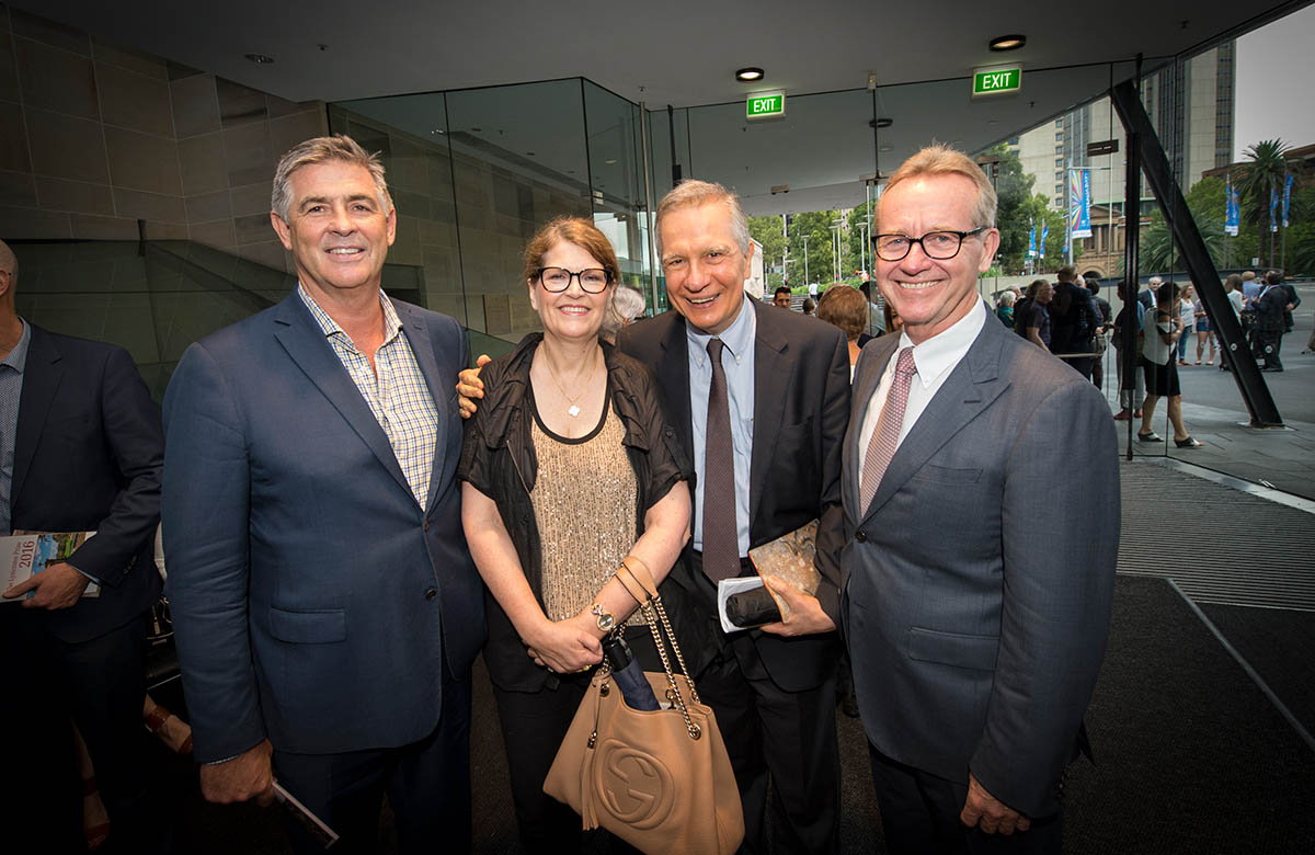 Lysicrates Prize 2016 Bill Calcraft, Fiona Champion, John Azarias and Keith Skinner