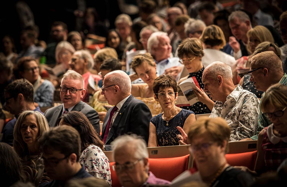 Lysicrates Prize 2018 Don Harwin, David Hurley, Linda Hurley
