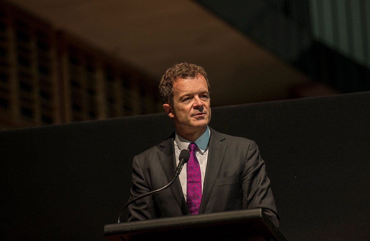Lysicrates Prize 2016 NSW Minister for Environment Mark Speakman